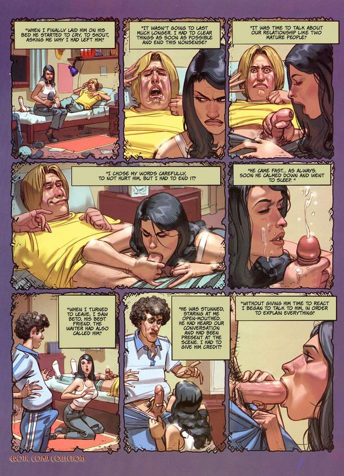Blowjob hot comics