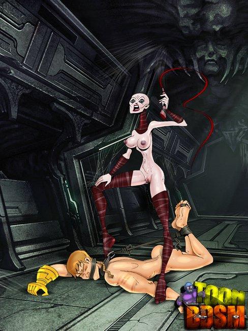 Bondage femdom