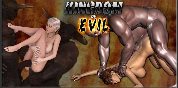 Kingdom of EVIL : 3D Monster Comics Porn Comics 3D