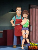 Bondage Porn Drawings of Peggy Hill : Bondage Porn Comics