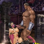 Mortal Kombat fighters into sex dream : Bondage Porn Comics