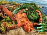 Aquaman 3d porn comics : 3D Monster Comics