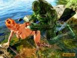 Aquaman 3d porn comics