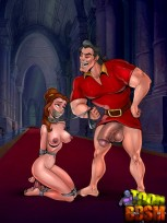 BDSM porn party with a Beast : Bondage Porn Comics
