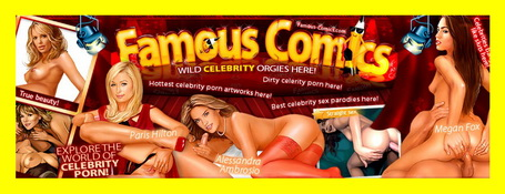 Megan Fox nude scene : Celebrity Naked Comics
