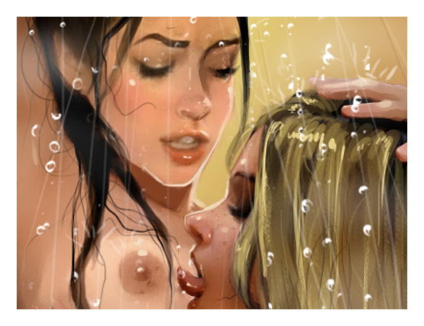Blonde in xxx comics : Nicole Heat Porn Comics