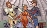 Star Wars porn comics : Famous Toon Sluts